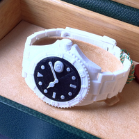 Small Divers Watch v2     Fully jointed with working bezel  3D Printing 89869