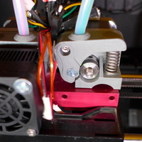 Small 2X Extruder Upgrade for Raffle Alu-Dual Cooling Block 3D Printing 90038