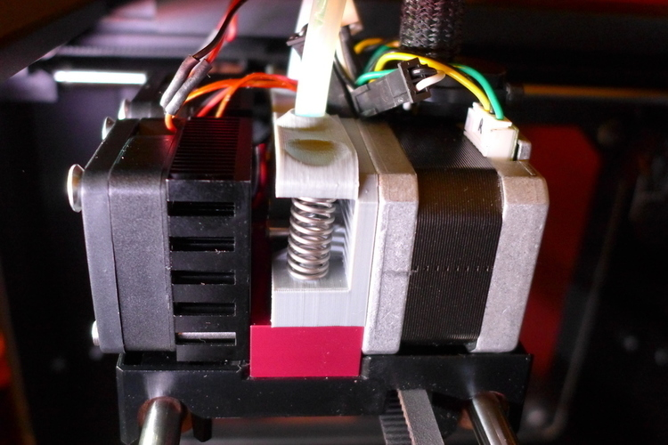 2X Extruder Upgrade for Raffle Alu-Dual Cooling Block 3D Print 90040
