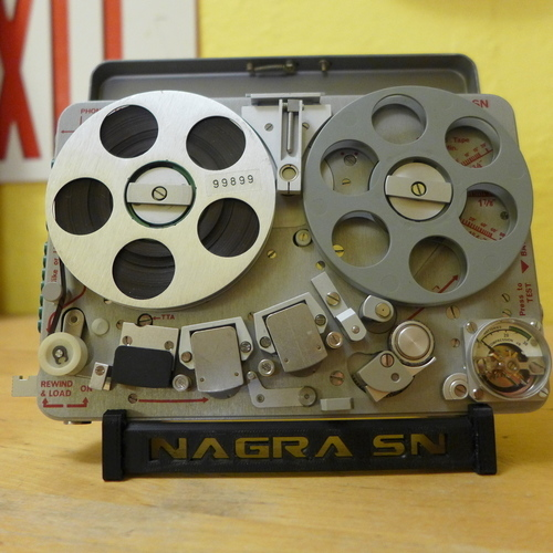 Nagra SN Display Stand 3D Print 90066
