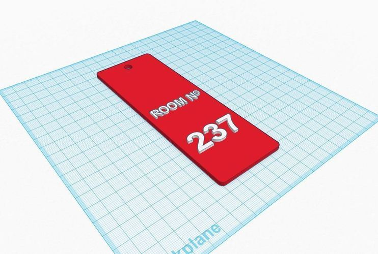 Room 237 (The Shining) 3D Print 90104
