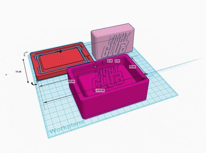 3D Printed Fight Club Soap Mold (and bar) by Imirnman | Pinshape