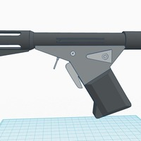 Small Sandman Flame Gun (Logan's Run) 3D Printing 90198