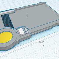 Small MultiPass Mold (From The Fifth Element) 3D Printing 90213