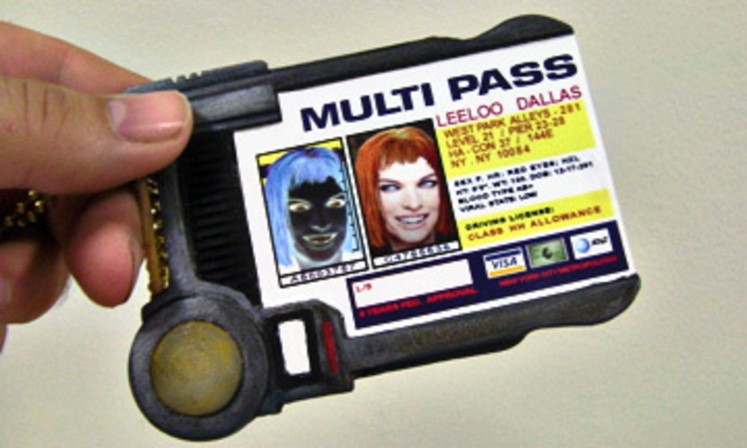 MultiPass From The Fifth Element 3D Print 90228
