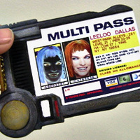 Small MultiPass From The Fifth Element 3D Printing 90228