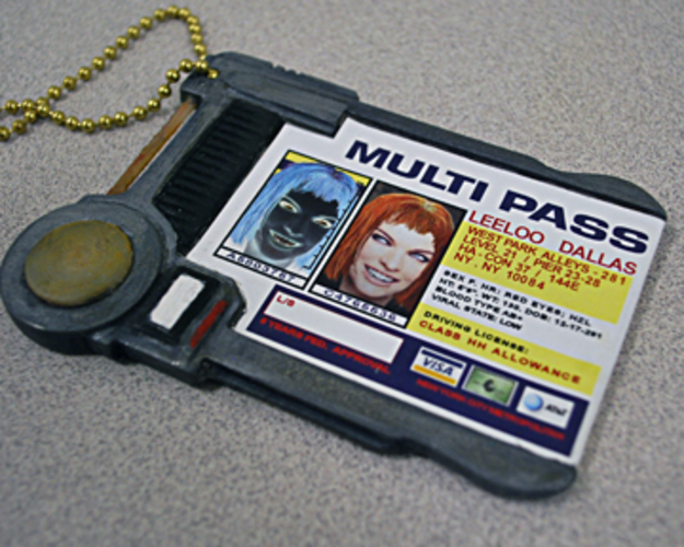 MultiPass From The Fifth Element 3D Print 90229