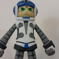 Small Beck From Mighty No 9 3D Printing 90274