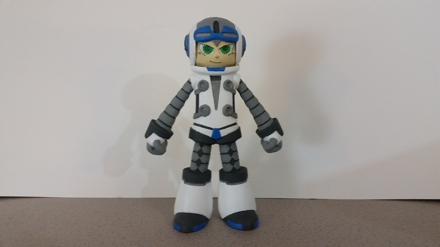 Beck From Mighty No 9 3D Print 90276