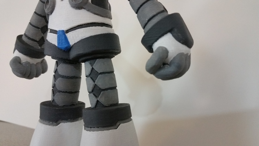 Beck From Mighty No 9 3D Print 90277