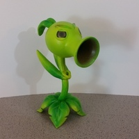 Small Peashooter (Plants Vs Zombies Garden Warfare) 3D Printing 90278