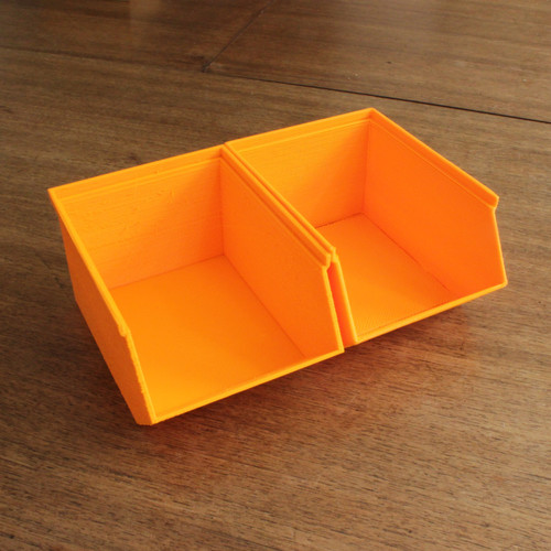 Stackable storage bins or trays for the garage, shed or office 3D Printing 90291