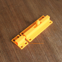 Small Door bolt or latch 3D Printing 90294
