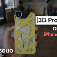 Small OlloClip iPhone 6/s Case  3D Printing 90402