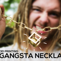 Small Gangsta Necklace 3D Printing 90417