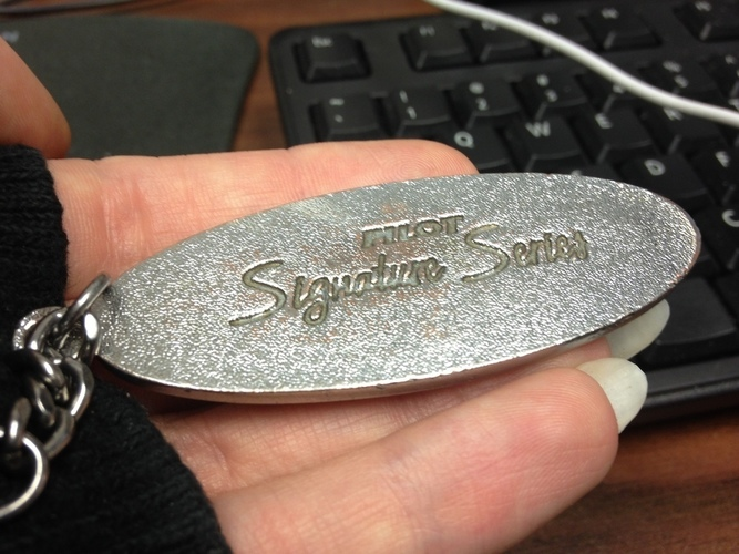 Ford Keyring Badge 3D Print 90442