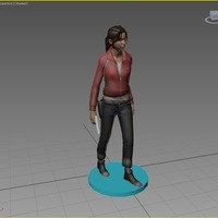 Small Zoey - Left 4 Dead 3D Printing 90623