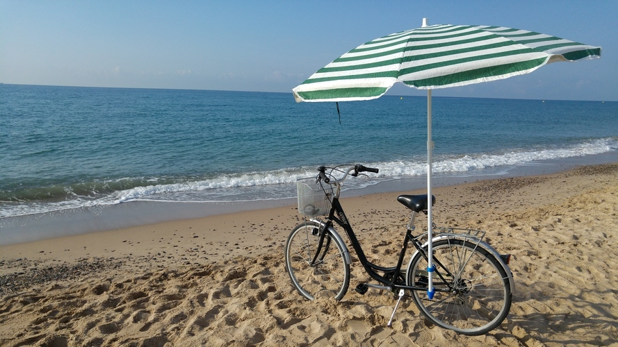 Bike accessory for a beach umbrella 3D Print 90762