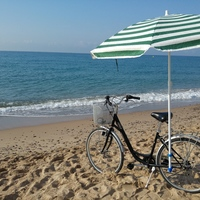 Small Bike accessory for a beach umbrella 3D Printing 90762
