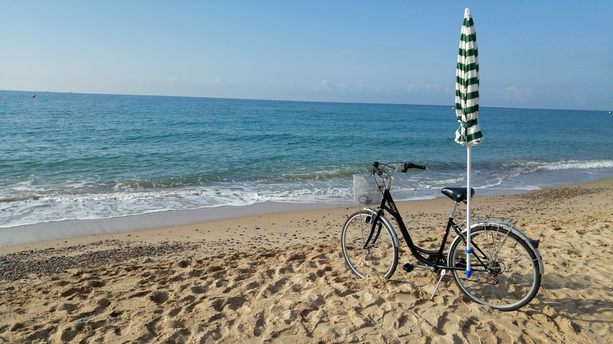 Bike accessory for a beach umbrella 3D Print 90763