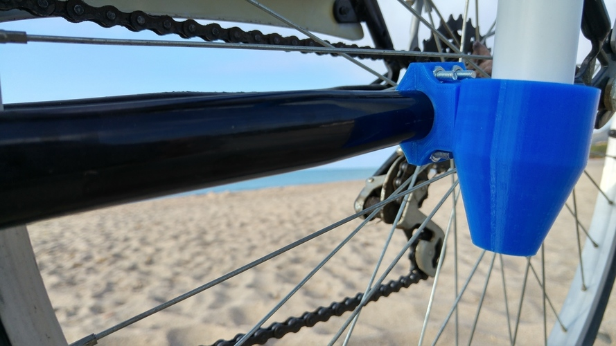Bike accessory for a beach umbrella 3D Print 90764