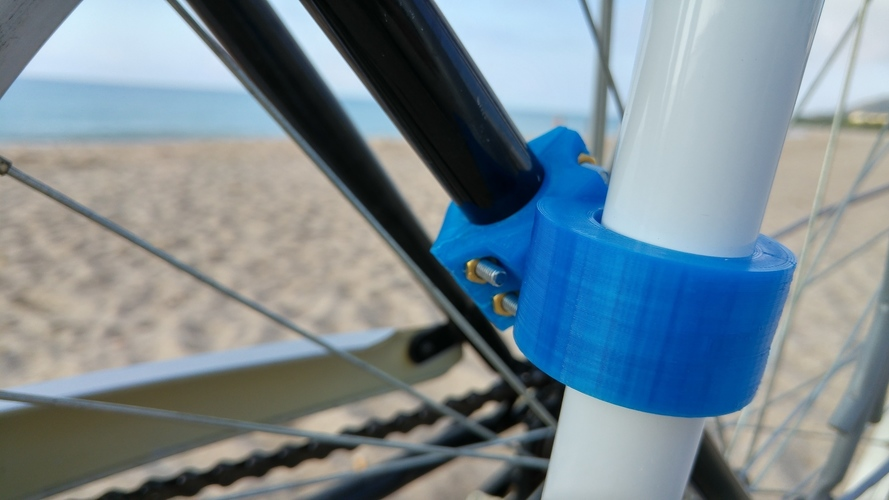 Bike accessory for a beach umbrella 3D Print 90765