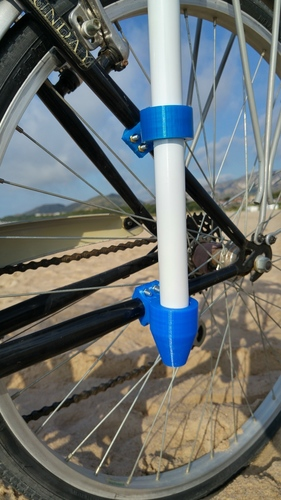 Bike accessory for a beach umbrella 3D Print 90766