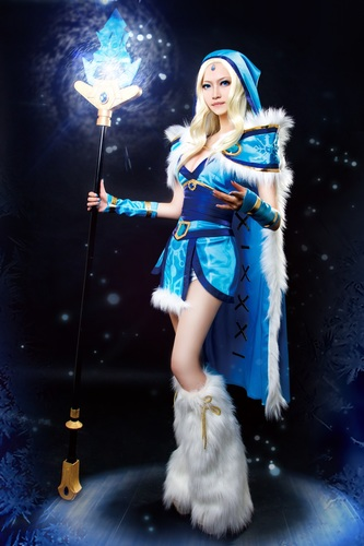 Crystal Maiden's Truncheon 3D Print 90800