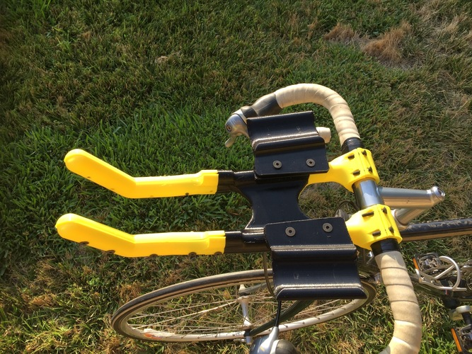 Bicycle Aero Bars and Water Bottle holder 3D Print 90814