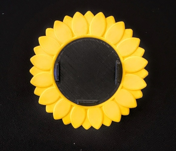 Sunflower iPhone 6 Bike Mount 3D Print 90896