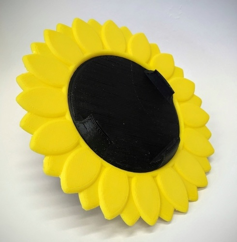 Sunflower iPhone 6 Bike Mount 3D Print 90901