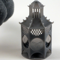 Small Incense Pagoda 3D Printing 91090