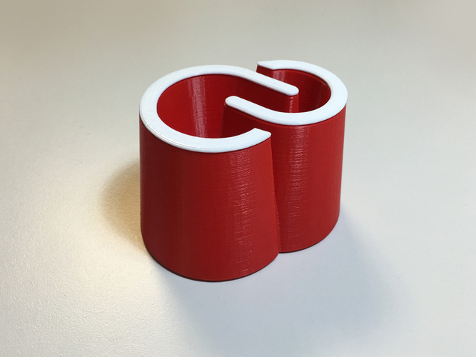 Creative Cloud pencil pot 3D Print 91234