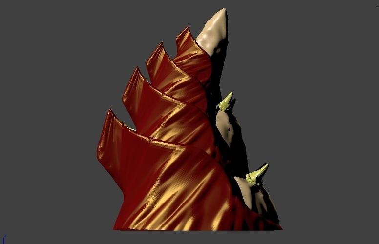 Tyranid Alien Spire WH40K scale