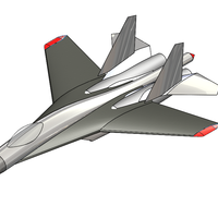 Small F-16-R5 3D Printing 91347