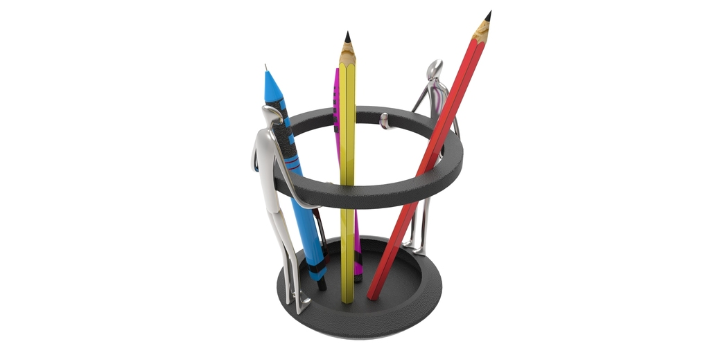 pen holder 2-Man  3D Printing 91356