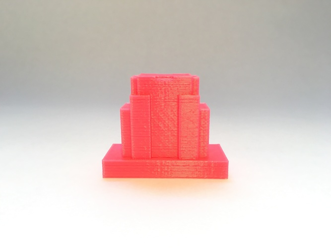 Empire State Building D Printed