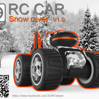 Small  RC-CAR [ Only for android ] 3D Printing 91509