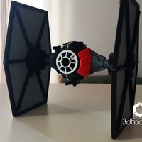 Small Star Wars The Black Series  TIE Fighter 3dFactory Brasil 3D Printing 91537