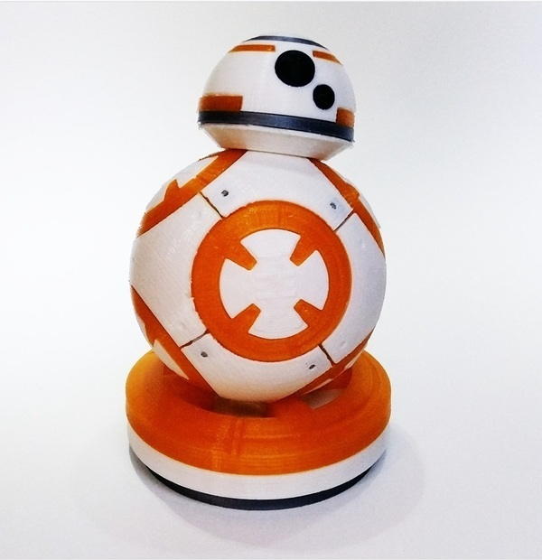 Medium BB8 Star Wars 3dFactory Brasil 3D Printing 91542