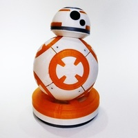 Small BB8 Star Wars 3dFactory Brasil 3D Printing 91542