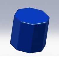 Small Octagon prism www.antsdesigntm.com  ANTS 3D printer only US$200 3D Printing 91725