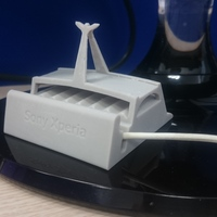 Small Sony xperia charging dock 3D Printing 91880