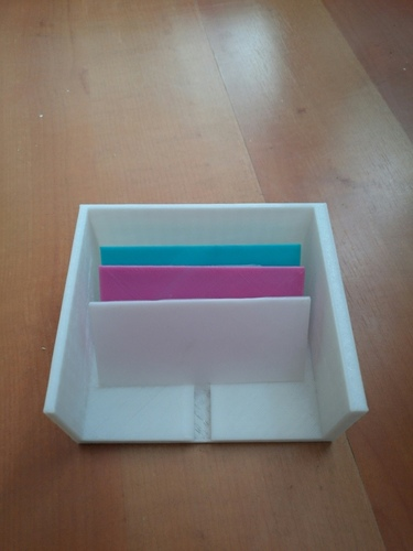 Card Organizer with Separators 3D Print 91919
