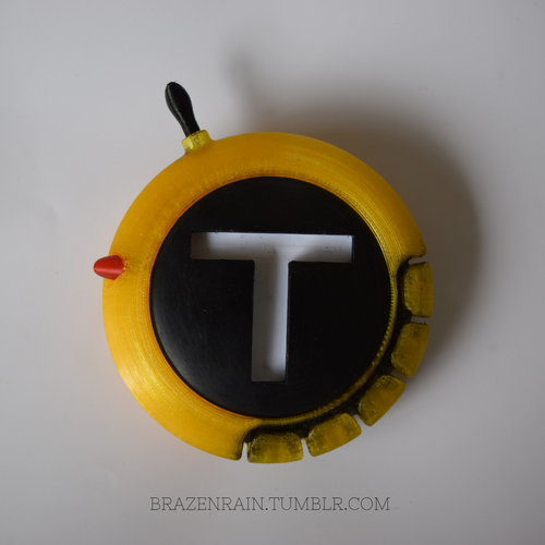 Teen Titans Communicator 3D Print 91943