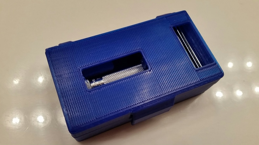 Safety Razor Case 3D Print 91982
