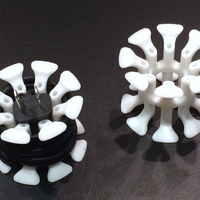 Small Cablewinders: Complete Set 3D Printing 92003