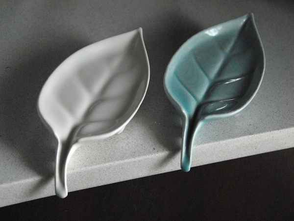 Medium Leaf: Self-Draining Soap Dish 3D Printing 92024