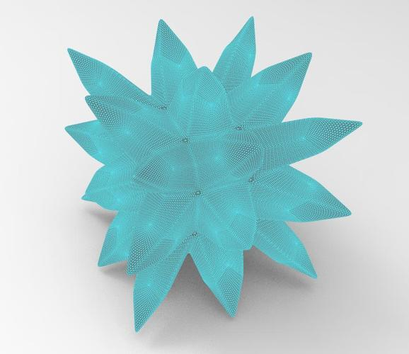 thorny ball 3D Print 92056