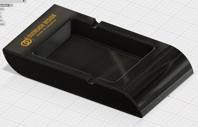Ashtray 3D Print 92063